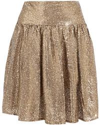 goldener Tüll Minirock von MICHAEL Michael Kors