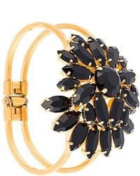 goldenes Armband mit Blumenmuster