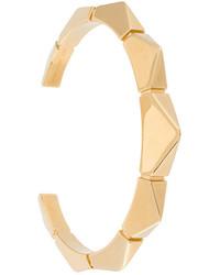 goldenes Armband mit geometrischem Muster von Chloé