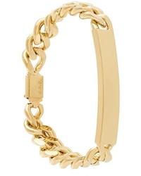 goldenes Armband von A.P.C.