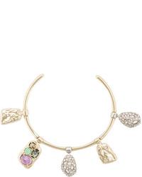 goldenes Armband von Alexis Bittar