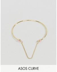 goldenes Armband von Asos