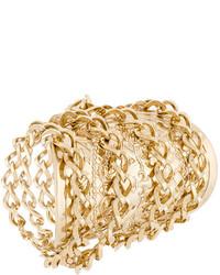 goldenes Armband von Balmain