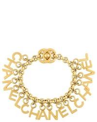 goldenes Armband von Chanel