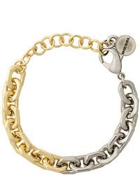 goldenes Armband von Diesel