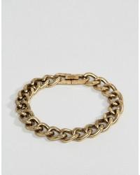 goldenes Armband von Icon Brand