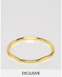 goldenes Armband von Reclaimed Vintage