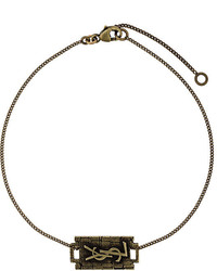 goldenes Armband von Saint Laurent
