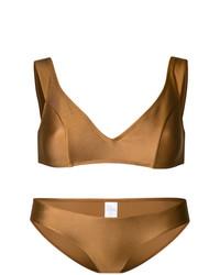 goldenes Bikinioberteil von Zimmermann