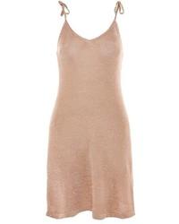 goldenes Camisole-Kleid