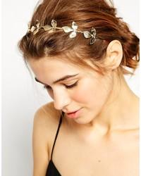 goldenes Haarband von Asos
