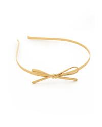 goldenes Haarband von Kate Spade