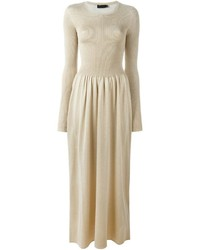 goldenes Maxikleid