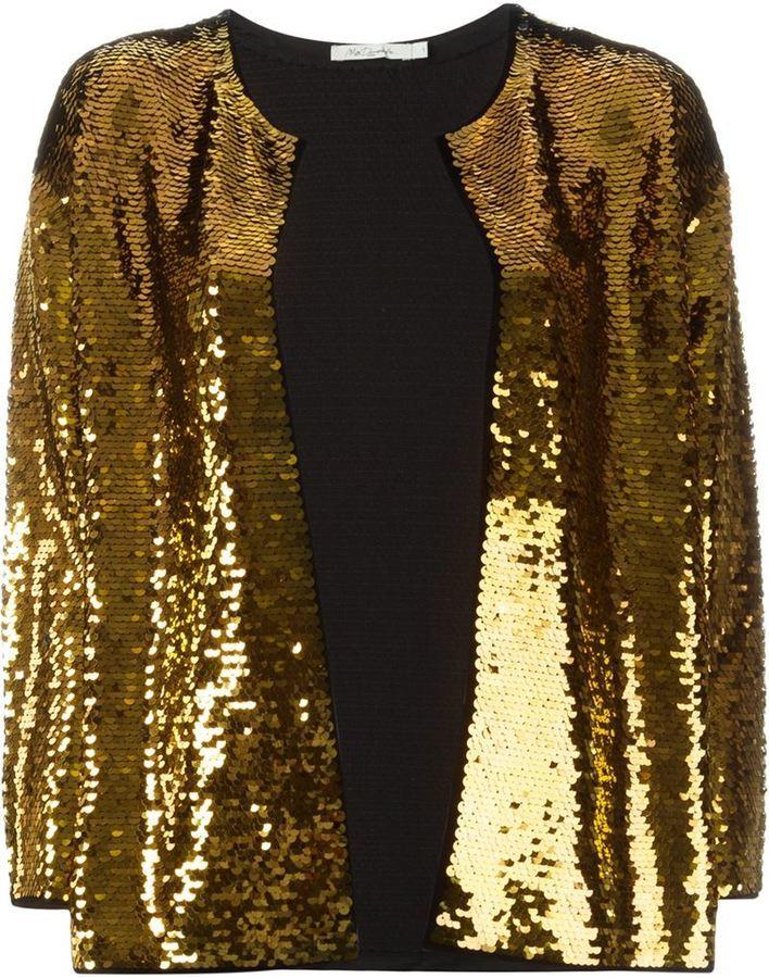 goldenes Paillettesakko von Mes Demoiselles