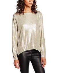 Modische goldenes T-shirt für Damen für Winter 2019 kaufen   Damenmode 9ead972b9c