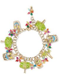 goldenes verziert mit Perlen Armband von Rosantica