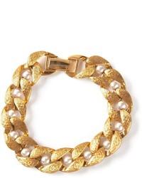 goldenes verziertes Armband