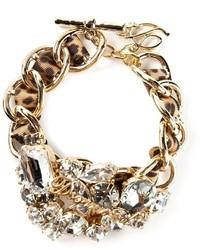 goldenes verziertes Armband von Dsquared2