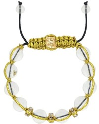 goldenes verziertes Armband von Francesca Romana Diana