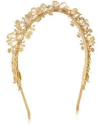 goldenes verziertes Haarband von Eugenia Kim