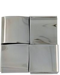 graue Anstecknadel von Ermanno Scervino