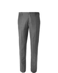 graue Anzughose mit Schottenmuster von Paul Smith