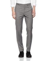 graue Anzughose von Burton Menswear London