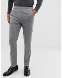 graue Anzughose von Burton Menswear