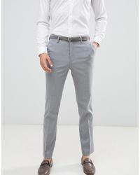 graue Anzughose von New Look