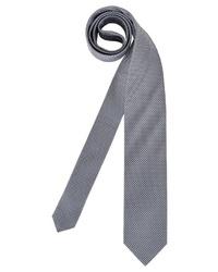 graue bedruckte Krawatte von Olymp
