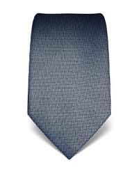 graue bedruckte Krawatte von Vincenzo Boretti