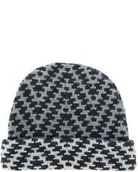 graue bedruckte Mütze von Etro