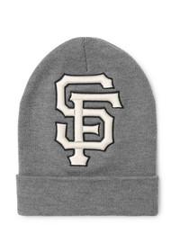 graue bedruckte Mütze von Gucci