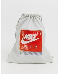 graue bedruckte Shopper Tasche aus Segeltuch von Nike