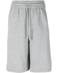 graue bedruckte Shorts von Off-White