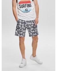 graue bedruckte Shorts von ONLY & SONS