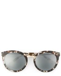 graue bedruckte Sonnenbrille von Dolce & Gabbana