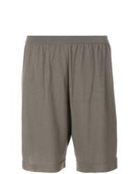 graue Bermuda-Shorts von Rick Owens