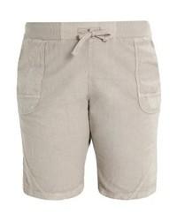 Graue Bermuda-Shorts von Zizzi