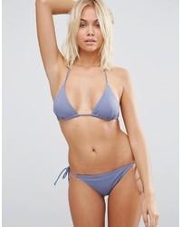 graue Bikinihose von Asos
