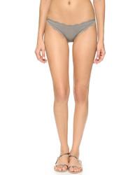 graue Bikinihose von Marysia Swim