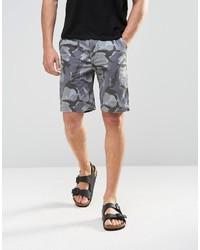 graue Camouflage Shorts von Asos