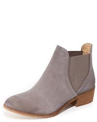 graue Chelsea-Stiefel aus Wildleder von Splendid