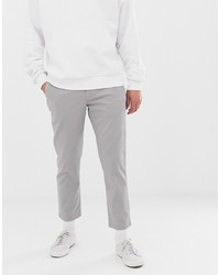 graue Chinohose von Calvin Klein
