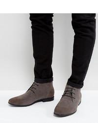 graue Chukka-Stiefel aus Wildleder von ASOS DESIGN
