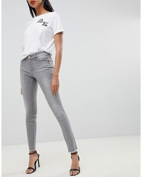 graue enge Jeans von Armani Exchange