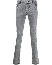 graue enge Jeans von Balmain
