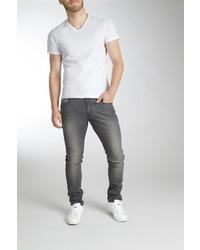 graue enge Jeans von BLEND