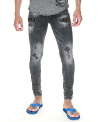 graue enge Jeans von Bright Jeans