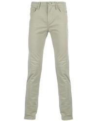 graue enge Jeans von Burberry